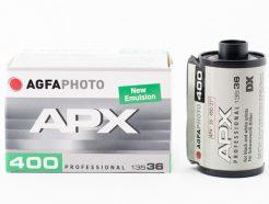 愛克發 Agfa APX 400 黑白負片 B&W 德國原廠盒裝