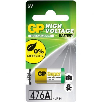 GP 4LR44 6V 鹼性電池 一次性電池 不可充 476A