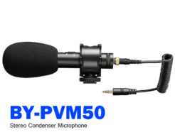 BOYA BY-PVM50 立體聲電容式麥克風