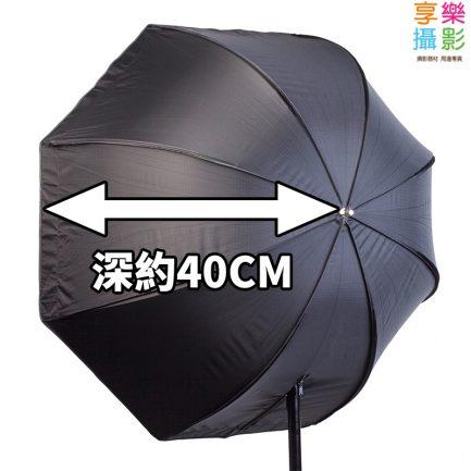 【附蜂巢罩 】80CM 八角柔光箱 傘式柔光箱 閃燈 燈泡 棚燈 可用