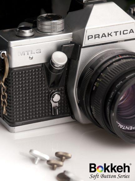 12mm 銀色 機械相機用快門鈕