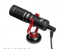公司貨保一年 BOYA BY-MM1 通用型 電容式 高音質麥克風 心形指向 適用 手機 相機 電腦 錄影 附防風兔毛
