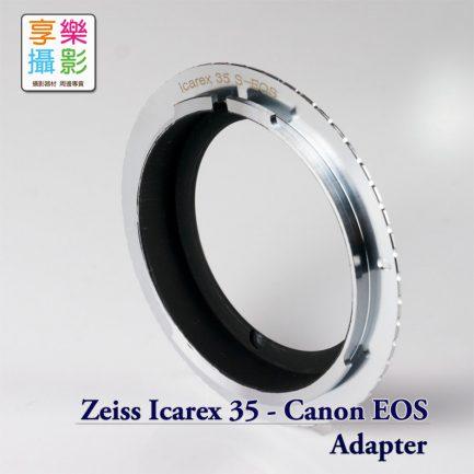 Zeiss Icarex BM 鏡頭 - Canon EOS EF相機 轉接環 含8代合焦晶片
