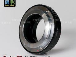 Contax RF Nikon S - 富士Fuji X FX 黑色 轉接環
