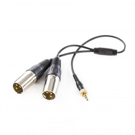 Saramonic SR-UM10-CC1 UWMIC9/UWMIC10 連接 雙 XLR 連接線