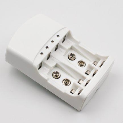 享樂攝影-9V 3號 4號 3合1電池充電器 鎳氫/鎳鎘電池充電器
