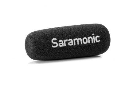 Saramonic SR-TM1 XLR 11吋 心型廣播級槍型指向麥克風 內建鋰電