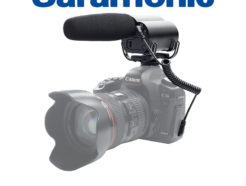 Saramonic Vmic 廣播級超心型指向電容式麥克風 DSLR單眼相機專用 含熱靴座