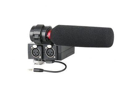 Saramonic MIXMic 專業機頂混音器組 含NV5麥克風 雙聲道XLR卡農接頭 適用Sony 業務機