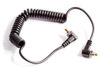 Viltrox PC-PC閃燈可伸縮同步線/閃燈同步線 唯卓 100cm