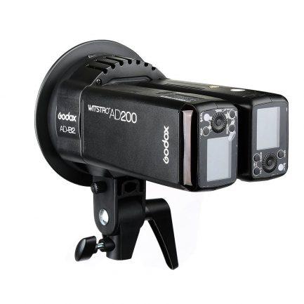 GODOX 神牛 AD-B2 AD200 專用雙燈支架/保榮卡口Bowens/S雙燈頭支架/S型支架/ADB2/開年公司貨