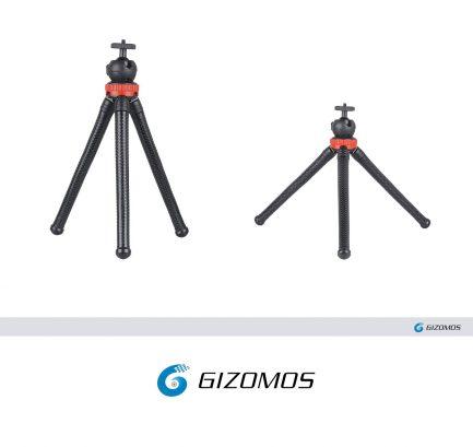 GIZOMOS GP-03ST 桌上型腳架 軟管章魚腳架/蜘蛛腳架/三腳架/軟管/微單/單眼/手機/自拍/支架