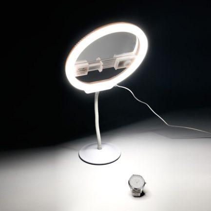 2代 永諾YN-128 LED美顏直播燈 自拍環型燈 環形燈 2代新增:自拍鏡 APP遙控