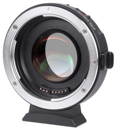 (送鏡頭袋)唯卓Viltrox EF-M2 EOS EF-M4/3自動對焦轉接環 Canon鏡頭轉接 Panasonic/OLYMPUS 減焦0.7X增光1級 平輸
