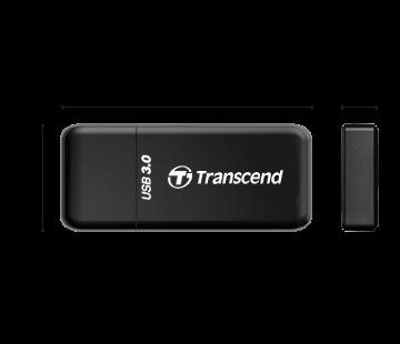 創見 Transcend F5 USB 3.0讀卡機 支援 SDXC UHS-I 黑色