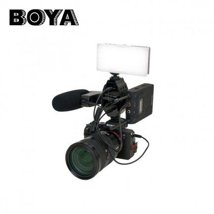 BOYA BY-MP4 3.5mm混音器 音頻轉接器 附手機相機輸出線 TRS TRRS 功能同AX100直立版【雙12特賣】