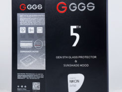 GGS金鋼第五代 SP5 螢幕保護玻璃及遮光罩套組 D750