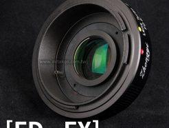 中一光學Lens Turbo II 2代減焦環 2代 Canon FD FD-FX 富士Fuji相機 減焦增光環廣角轉接環