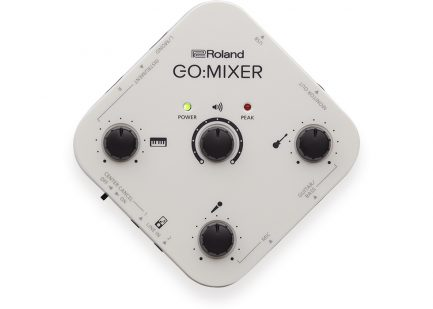 樂蘭Roland GoMixer 手機混音器 支援直播監聽 支援IPHONE 安卓 錄音錄影現場演奏直播表演