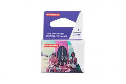 LomoChrome Purple 紫調負片 400/36 全新配方 135底片 膠捲 35mm 感光度 ISO 100 36張 紫色 單卷