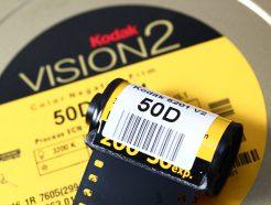 (庫存稀少不參與9折特賣) Bokkeh Vision2 50D 5201 Daylight 電影負片 35mm 電影底片
