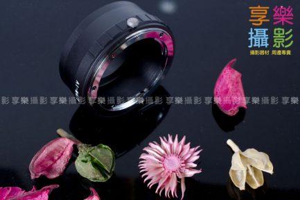 Nikon F 鏡頭 - M43 micro 4/3 m4/3 微單眼轉接環2