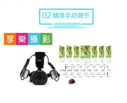 (客訂商品)永諾YN24EX 微距燈 CANON ETTL 環形閃光燈 雙燈頭 生態攝影 YN-24EX 非YN14EX