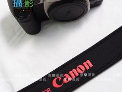 Canon 字樣 彈性背帶