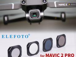 ELEFOTO DJI大疆MAVIC 2 PRO專業版濾鏡 ND減光/CPL偏光鏡/UV鏡《4片入》