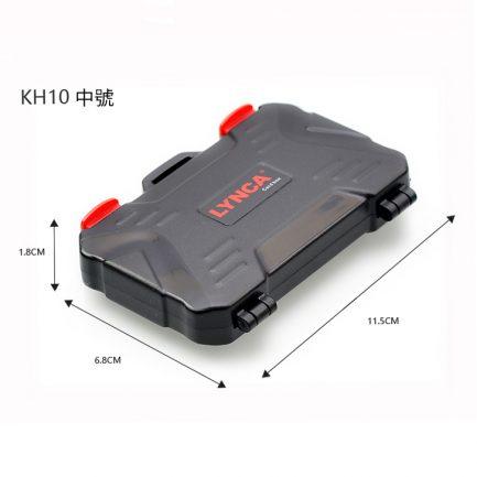 多功能記憶卡三合一收納卡盒 紅黑 SD CF miniSD 手機記憶卡 輕巧 可收納多種卡 超強防水 抗撞 方便攜帶