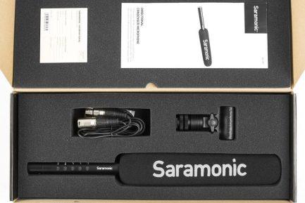 Saramonic SR-TM7 XLR 15吋 超心型廣播級槍型指向麥克風 內建鋰電