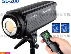 公司貨 Godox 神牛 SL-200 攝影燈(白光/黃光) LED持續燈 LED燈 超大瓦數 BOWENS保榮卡口 SL-200W SL-200Y
