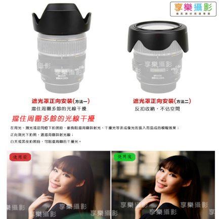 副廠遮光罩 適用CANON EW-53 EF-M 15-45mm STM 鏡頭 EW53 EOS M M5 M6 M10