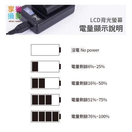 FOTODIOX LCD液晶螢幕USB相機鋰電池充電器 micro USB 行動電源充電 OLYMPUS BLH-1 BLH1