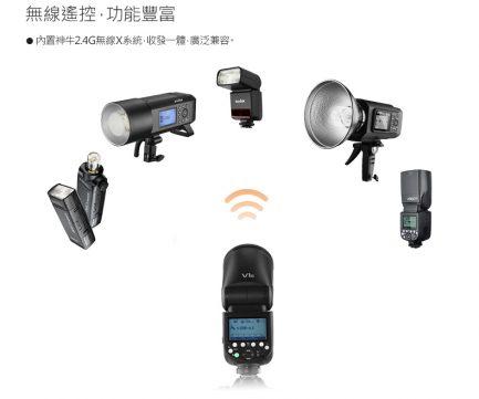 GODOX神牛 V1-N KIT圓頭型閃光燈 Nikon i-TTL 鋰電池高速回電 V1 自帶造型燈/模擬燈 可加購AK-R1 公司貨