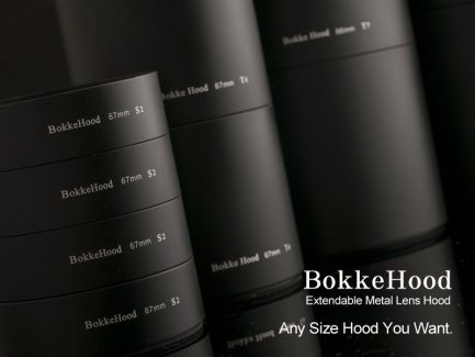 金屬遮光罩S Bokkehood 長短可延伸加接 口徑95mm/長8cm