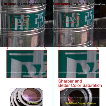 新版 M42鏡頭 - Nikon 相機 MC 多層鍍膜校正鏡片 轉接環 可以無限遠