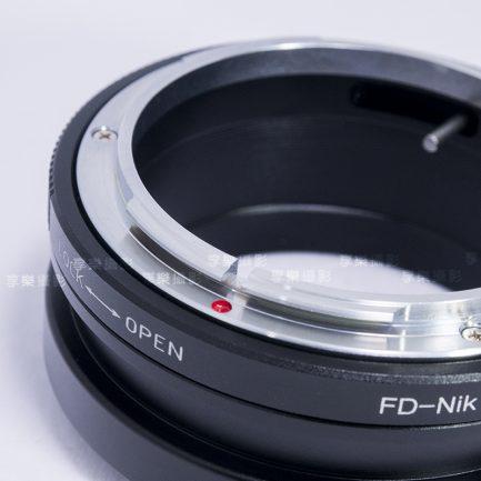 Canon FD 轉 NIKON Z NZ轉接環 鏡頭轉接環 老鏡轉接 FD鏡頭 轉 NZ機身 Z6 Z7