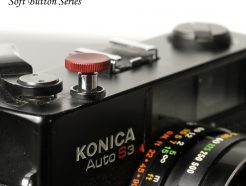 12mm 紅色質感機械相機用快門鈕