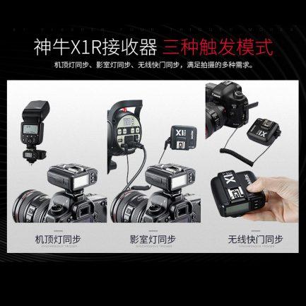 公司貨 神牛 GODOX X1RX-C 接收器 for Canon TTL高速同步1/8000 NCC認證 X1R