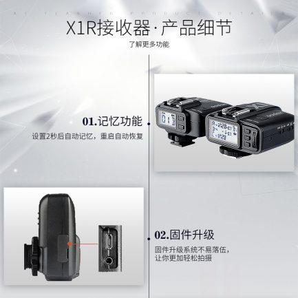 神牛 GODOX X1RX-S SONY專用 接收器 X1無線電觸發器系統 TTL 高速同步 X1R