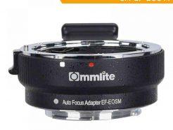 卡萊Commlite CM-EF-EOS M自動對焦轉接環 EF鏡頭轉EOSM機身 EF-M 可調光圈 防震 EXIF訊息 可上腳架 公司貨