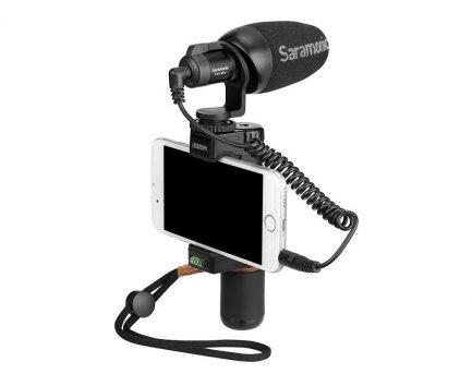 Saramonic Vmic Mini 迷你指向性電容式麥克風 手機+相機 通用款 即插即用 免電池 Vlog/直播/錄影/採訪