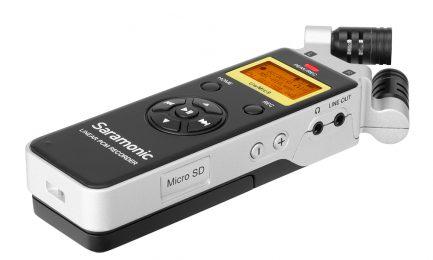 Saramonic 楓笛 SR-Q2 手持式雙聲道立體聲 錄音筆