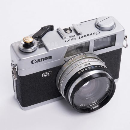 風格快門鈕 開運招福 紅/金10mm 底片相機配件 金屬材質 fuji 135 120 中式風格