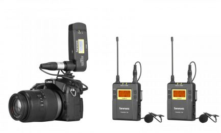 UwMic9 Kit8 RX-XLR9+2TX9一對二卡儂領夾麥克風套裝