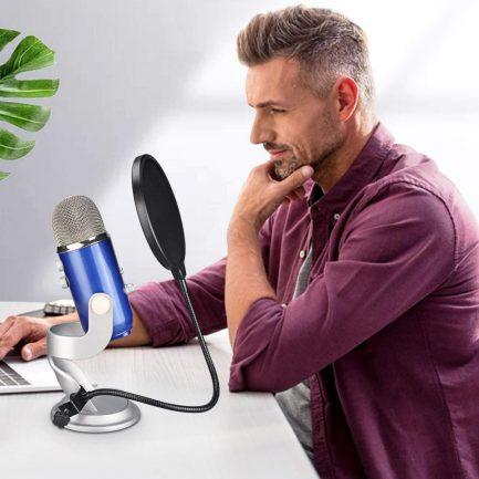 Rodeane樂笛 麥克風防噴網PS-7 16cm 防噴麥 防噴罩 錄音必備 直播 實況 室內錄音