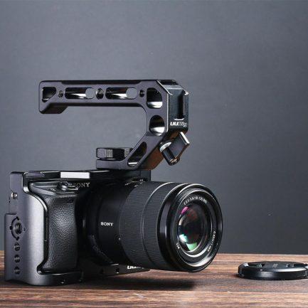 ulanzi 兔籠專用 上提手柄 R008 4個冷靴口 含1/4 3/8螺孔 金屬製 錄影 拍攝 攝影機握把
