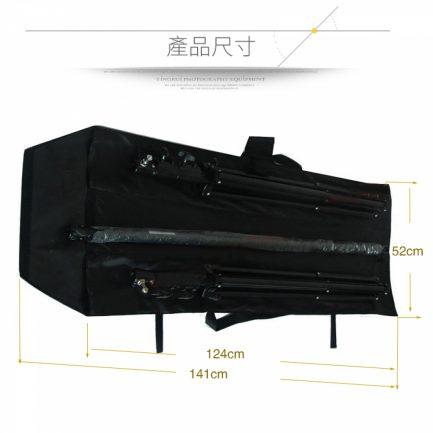 燈架包 燈架袋 3隔層簡易款120cm 腳架 收納袋 手提式 柔光傘 反光傘 棚燈用具攜帶