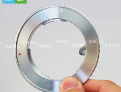 Rollei QBM 祿來 鏡頭轉接 Canon 佳能 EOS轉接環 銀環 6D 6D2 5D4 5D3 1DX 800D 80D